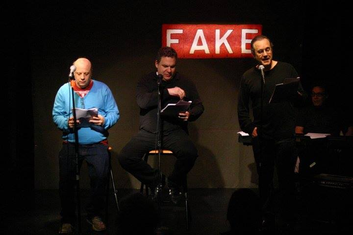 Eddie Pepitone, Jeff Garlin and David Feldman