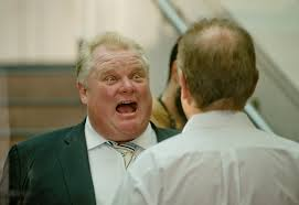 Mayor Ford was videotaped recently smoking crack cocaine.