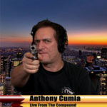 Cumia has a long history of racism and guns.