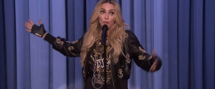Madonna's stand-up on Tonight Show with Jimmy Fallon: Rest in Peace, Comedy