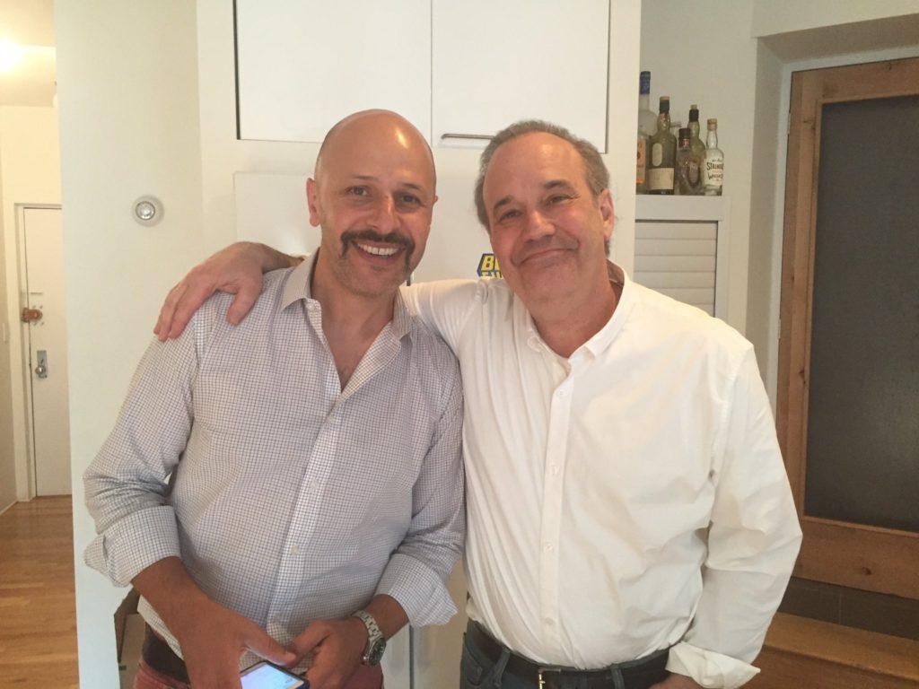 Maz Jobrani, David Feldman, comedians