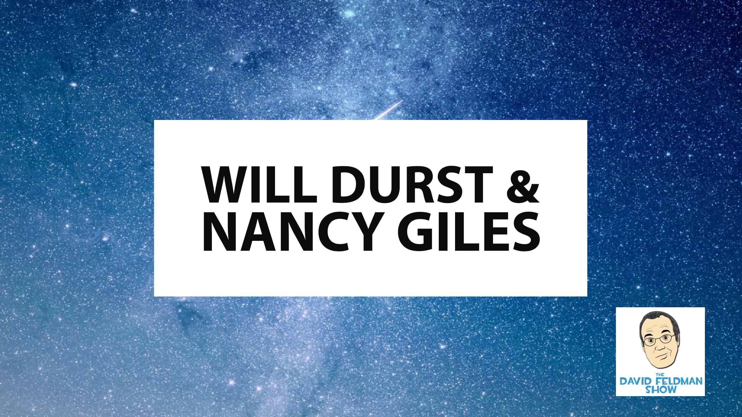 Will Durst & Nancy Giles