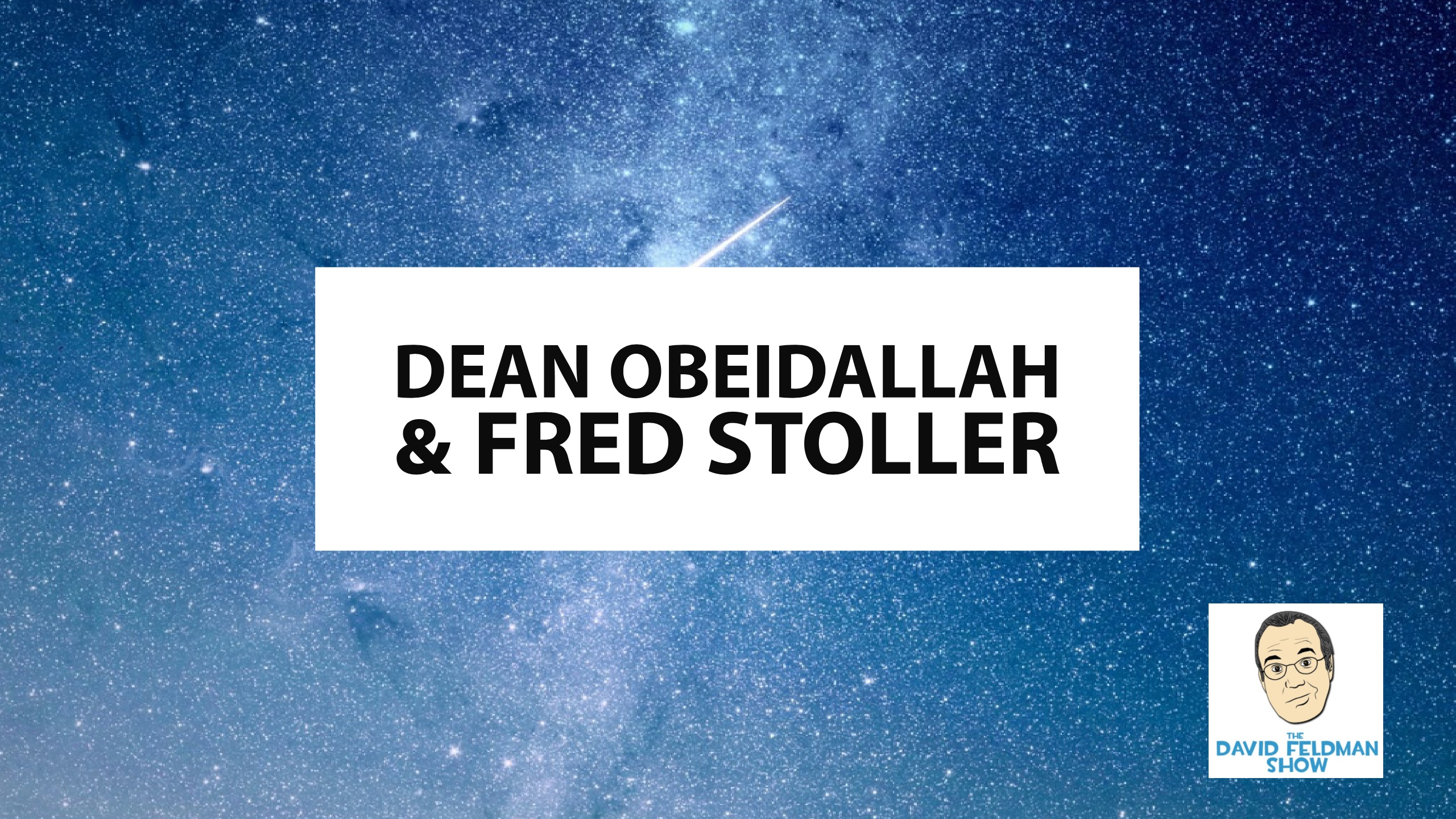 Comics Dean Obeidallah & Fred Stoller