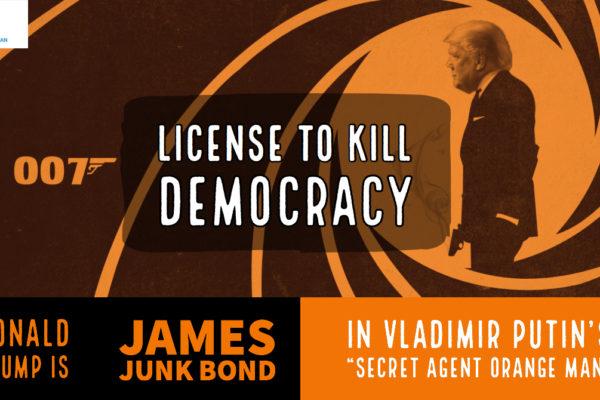 Trump is Secret Agent Orange Man, Episode 1006